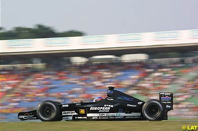 The first F1 car I ever saw. (Photo from Autosport.com)