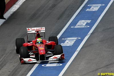 Wall blamed for Massa damage